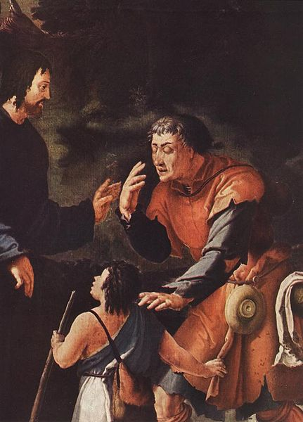 Lucas van Leyden Christ Healing the Blind